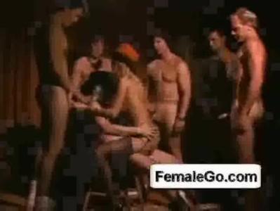 African Pornstar Gangbang