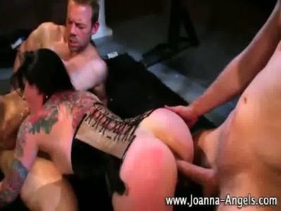 Horny inked up goth Joanna Angel
