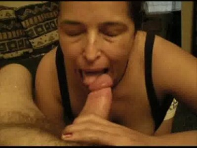 Edna loves sucking her husbands bigcock shes everybodies slut