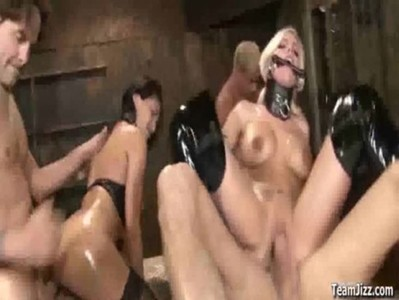 Britney Amber in a Bondage Orgy