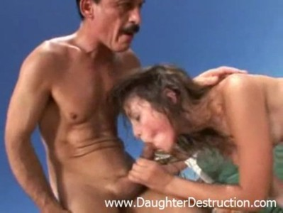 Daddy loves to destroy daughter