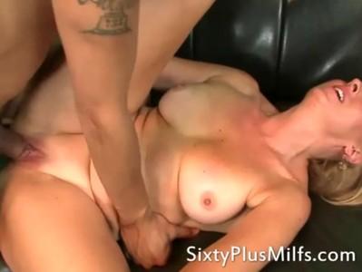 Sixty plus milf Amber fucked