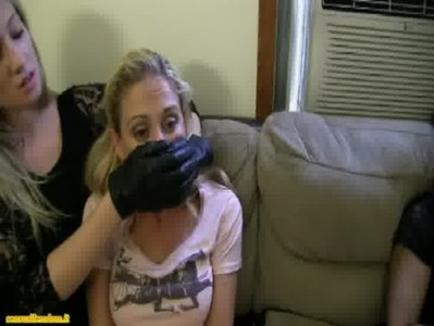 Amber the fetish hitwoman