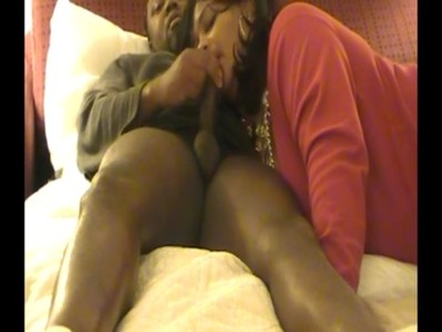 married freak licking dick real good